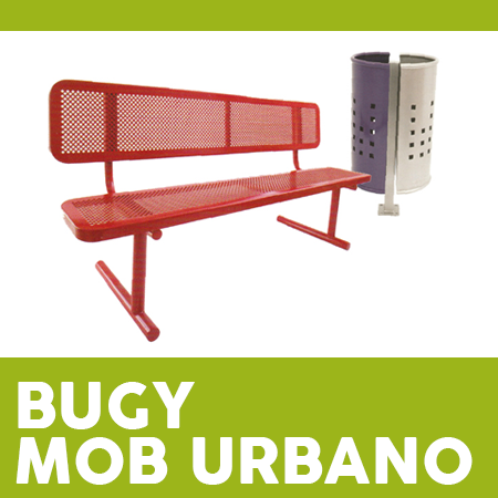 Bugy Mobur - Mobiliario Urbano